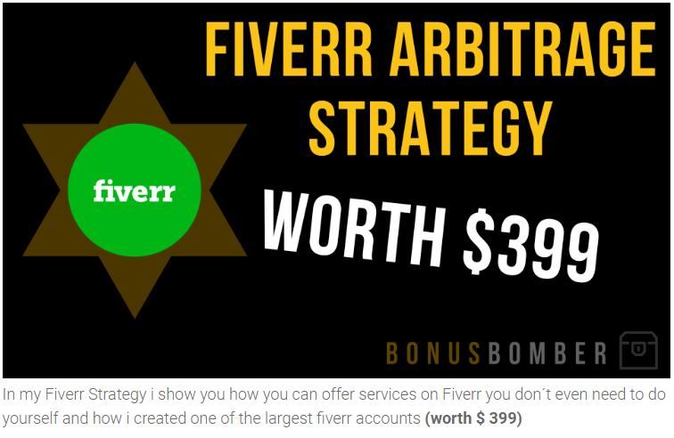 fiverr arbitrage strategy
